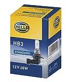 HELLA 8GH 005 635-121 Glühlampe Standard, Halogen Scheinwerferlampe, HB3, 60 W, 12V