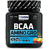 USN BCAA Amino Gro pour Prendre le Muscle Fruit Fusion 300 g