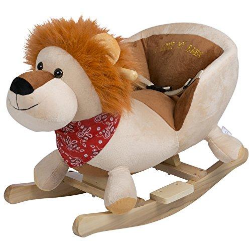 BabyGo Rocker Schaukeltier Löwe - Schaukellöwe Lion ab 6 Monaten