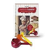 Kinderleichte Becherküche - Plätzchen, Kekse, Cookies & Co. (Band 3): Backset inkl. 3-teiliges Messbecher-Set, 10 tolle Keks- & Plätzchenrezepte, Original aus