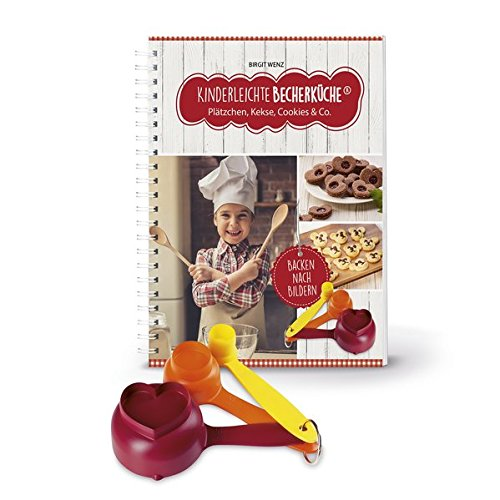 Kinderleichte Becherküche - Plätzchen, Kekse, Cookies & Co. (Band 3): Backset inkl. 3-teiliges Messbecher-Set, 10 tolle Keks- & Plätzchenrezepte, Original ausDie Höhle der Löwen