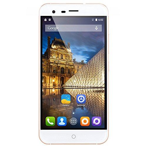 Ulefone Paris Arc HD 5.0 Zoll 4G Smartphone Android 5.1 MTK6753 64-bit Octa Core RAM 2G ROM16G Doppel Kameras 5MP/13MP