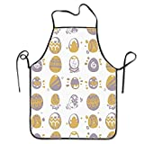 """Not afraid Unisex Kitchen Aprons Chili Peppers Chili Chef Apron Cooking Apron Barbecue Aprons 28.3"""" X 20.5"""""""