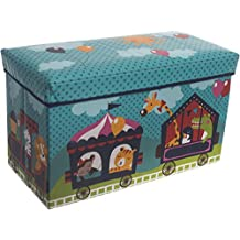 Bieco 04000564–Caja de almacenamiento y banco Circo, aprox. 60x 30x 35cm