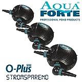 AquaForte Filter-/Teichpumpe O-Plus 20000, 200W, 19m³/h, Förderhöhe 7m
