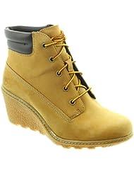 Timberland - Botas para mujer Beige marrón (Wheat)