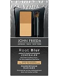 John Frieda Root Blur Ansatz-kaschierender Concealer - Honig bis Karamell für Mittel- dunkelblond, 2er Pack (2 x 2 ml)