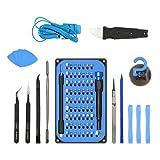 JVMAC Set Cacciaviti di Precisione Kit Cacciaviti 85 in 1 Kit Riparazione per per iPhone, Smartphone, Elettronica, Tablet, Computer e Altro Ancora