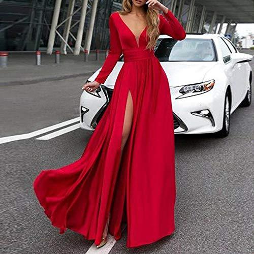 7404365d7a89 Robe éLéGante Hiver ELECTRI 2019 Sexy Clubwear Robe Slim Longue ...