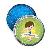 Pink Papaya Magische Knete - Paradise Blue - Fidget Knete glitzert in wunderbarem Ozean-Blau, Das Intelligente Knetgummi zur Stressreduktion, BPA Free - Viele Farben mit Verschiedenen Eigenschaften