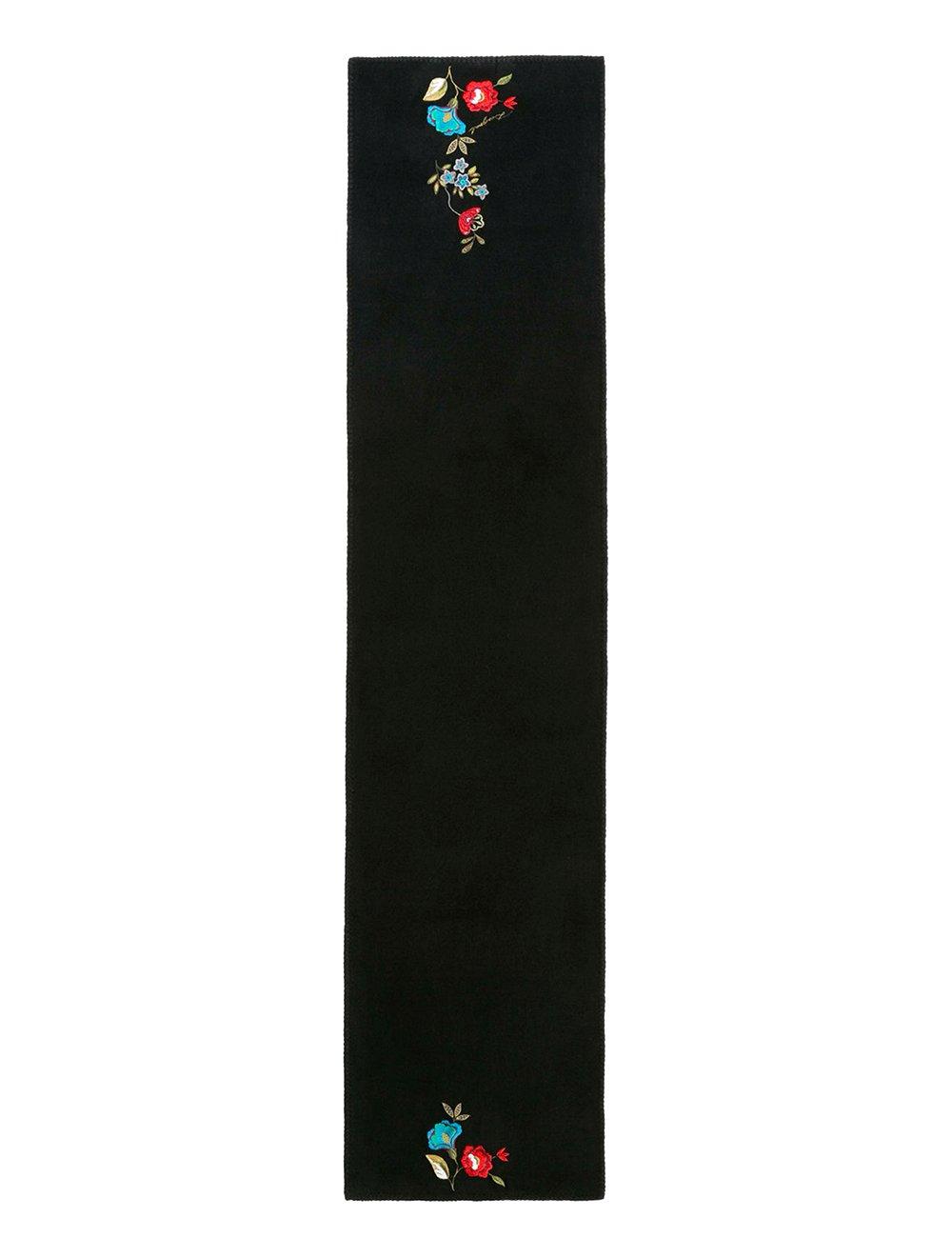 Desigual Buf_Caribou Bufanda, Negro (Negro 2000), Talla única (Talla del Fabricante: U) para Mujer