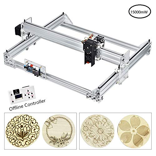 InLoveArts 40x30cm CNC Fresadoras Máquina laser engraving