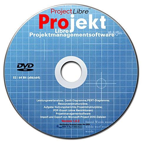 LIBRE Project 2017 Professional Vollversion deutsch (auf DVD) Projektplanungstool