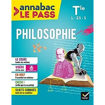 Philosophie Tle L ES S: cours, cartes mentales, sujets corrigés... et vidéos