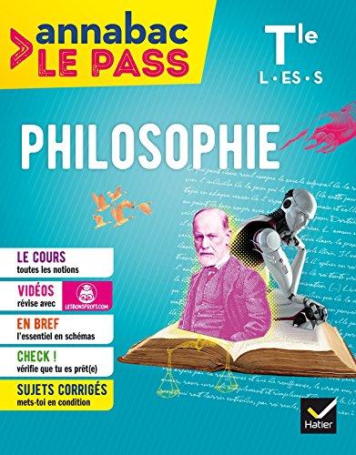 Philosophie Tle L,ES,S: cours, cartes mentales, sujets corrigs... et vidos
