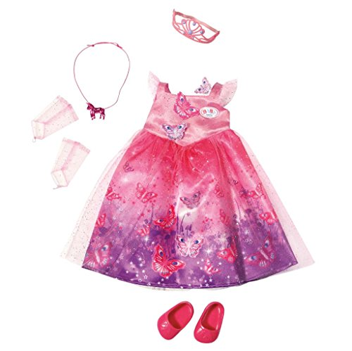 Zapf Creation 822425 - Baby born Wonderland Deluxe Prinzessin (Schmetterling Outfits Für Babys)