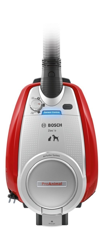 Bosch BGS5335 Bodenstaubsauger Zoo'o ProAnimal (EEK C, beutellos, SensorBagless Technology, AirTurbo System, ProAnimal…