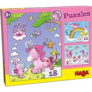 HABA 300299 - Puzzle Infantil, diseño de Unicornio