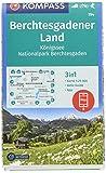 KOMPASS Wanderkarte Berchtesgadener Land, Königssee, Nationalpark Berchtesgaden: 3in1 Wanderkarte 1:25000 mit Aktiv Guide inklusive Karte zur offline ... Skitouren. (KOMPASS-Wanderkarten, Band 794) -
