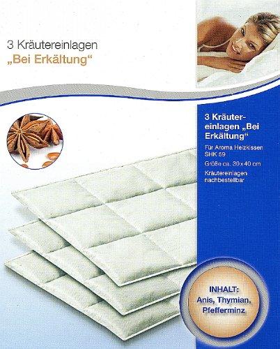 Kräutereinlagen3 Stk. für Aroma Heizkissen Wahlweise (
