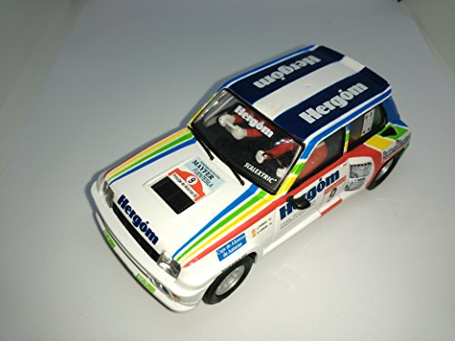Scalextric Renault 5 turbo altaya coches miticos