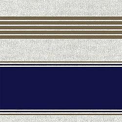 Tela por metros de loneta estampada (0,50 x 2,80 m) | Marinera con rayas