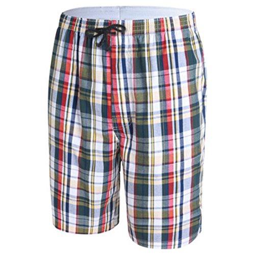 Men's Casual Knee Length Beach Shorts Cornsilk