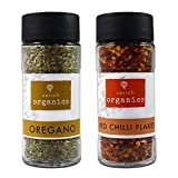 #7: Sorich Organics - Premium Quality Oregano (45Gm) and Chilli Flakes (50Gm) Combo