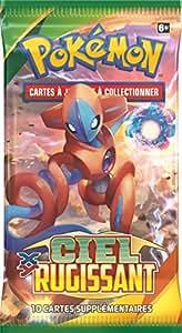 Pokémon - Poxy602 - Jeu De Cartes - Booster - XY06 - Ciel Rugissant - Modèle Aleatoire