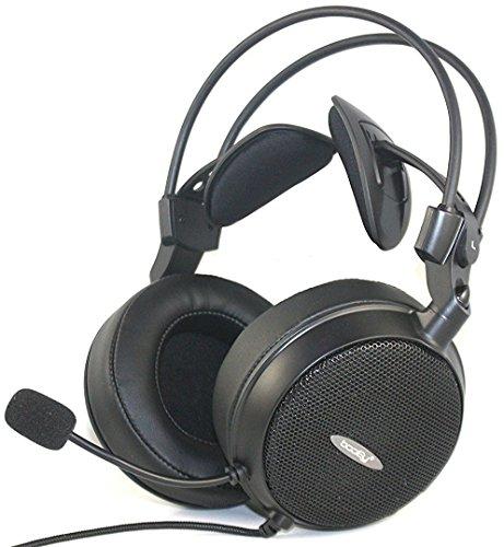 booEy BO7 Gaming Kopfhörer Headset für PS4, Xbox One, PC, MAC, Smartphone, Nintendo Switch, Playstation 4 Slim und Pro, schwarz