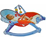 Portable Foldable Rocker and Crib For Ne...
