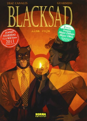 Blacksad alma roja/ Blacksad Red Soul by Juan Diaz Canales (December 08,2006)