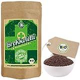 Produkt-Bild: Bio Keimsprossen Brokkoletti (Brokkoli Raab) zum Keimen - 200g - BIO - verlässlich hoher Sulforaphangehalt - kurze Keimzeit - für leckere, vitalstoffreiche, frische Sprossen & Keimlinge