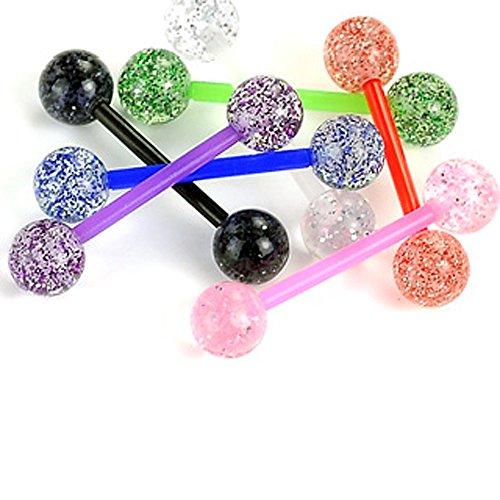 punkjewelry-zungenpiercing-bioflex-glitzer-7er-set-bioflex-flexibler-kunststoff