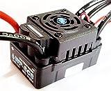 Hobbywing EZRUN WP SC8 120A wasserdichte Drehzahlregler Brushless Regler für RC Auto-Short-LKW