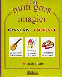 Mon gros imagier français-espagnol