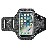 Sportarmband mit Schlüsselhalter für Apple iPhone XS/X/Samsung Galaxy A40 / S10e / J2 Core / J3 / Amp Prime 3 / LG Aristo 3 /