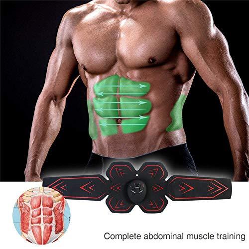 Aparato abdominal, electroestimulador muscular Abs Trainer músculo abdominal estimulador EMS Smart...