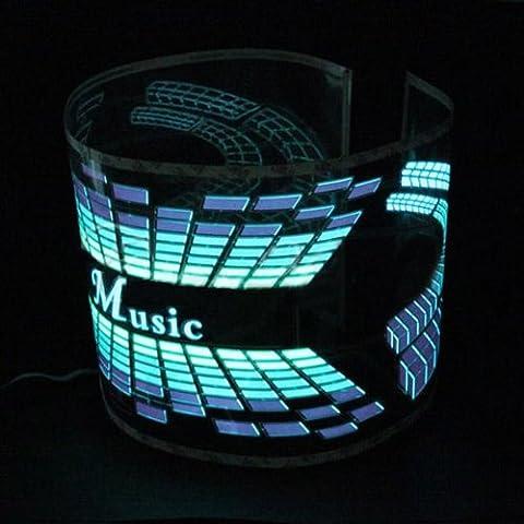 Musik Rhythm Sound aktiviert Equalizer LED Licht Lampe 12V Auto