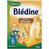 Blédina blédine céréales pour bébé saveur biscuitée 500g dès 6 mois - ( Prix Unitaire ) - Envoi Rapide Et Soignée