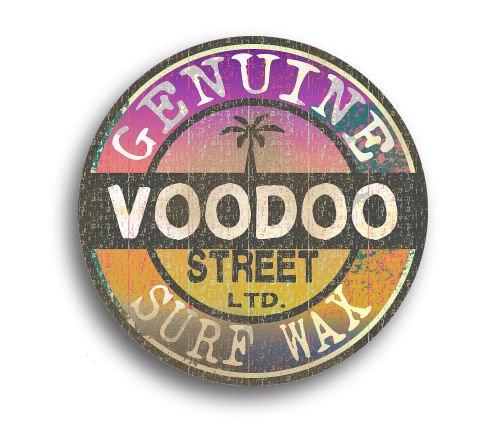 Voodoo Street Surf Wachs-Sticker