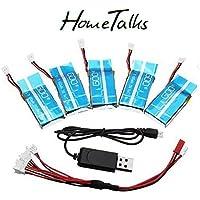 Hometalks® de Syma X5c / X5SC / X5SW 1 a 4 3.7V 600MAH Actualiza Batería Conjunto de 5