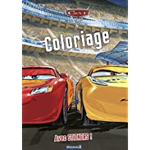 Cars 3 - Coloriage avec stickers
