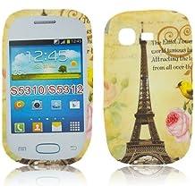 Samsung Galaxy Pocket Neo S5310 TPU Paris LA TOUR de diseño de LA torre Eiffel de silicona Carcasa Funda Bumper thematys