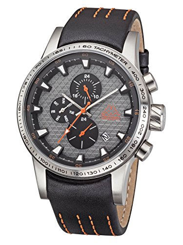 kappa-mens-watch-with-leather-band-date-day-gmt-kp-cyan-1434-m