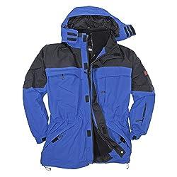 Marc&Mark Blaue 3in1 Jacke I Winterjacke Herren I Kleidung Herren I Herrenjacke I Übergangsjacke I Outdoorjacke I Regenjacke in Übergröße bis 10 XL, Größe:3XL