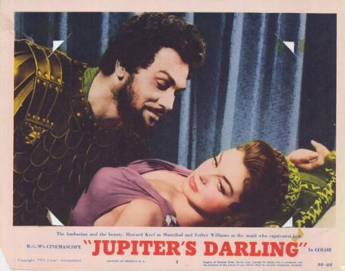 Jupiter S Darling poster Movie C 11 x 14 pollici - 28 cm x 36 cm Esther Williams Howard Keel George Sanders Gower campione Marge campione norma Varden