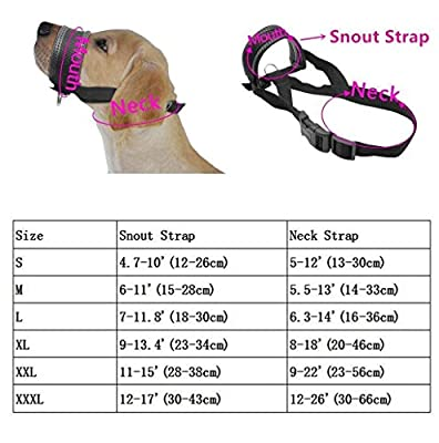 RockPet Nylon Soft Dog Muzzle for Dogs Prevent Anti Biting, Barking and Chewing, Adjustable Loop from Yiwu Tongyan Electronic Commerce Co.Ltd.