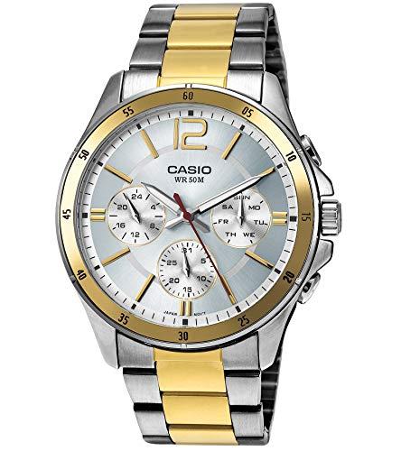 Casio Reloj con Movimiento Cuarzo japonés Man MTP-1374SG-7AVDF(A954)