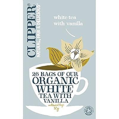 Clipper Thé blanc biologique + Vanille 26 Bag